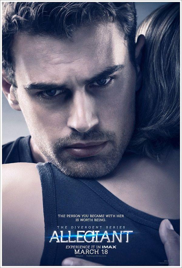 La serie Divergente se prepara para el estreno de su tercera película , 'Allegiant', Leal,  con estos nuevos carteles llenos de emoción....