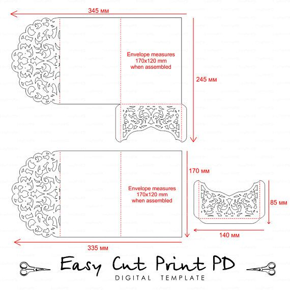 Do You Need An Inner Envelope For Wedding Invitations: Pin On Invitations