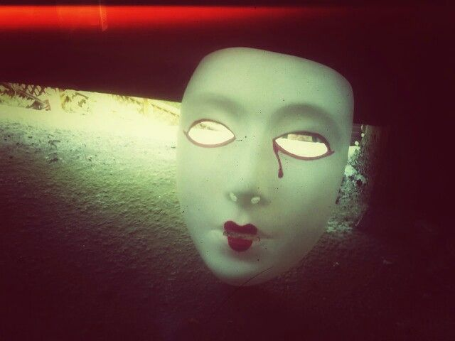 Empty Mask Series digital photo by Lisa Peterson