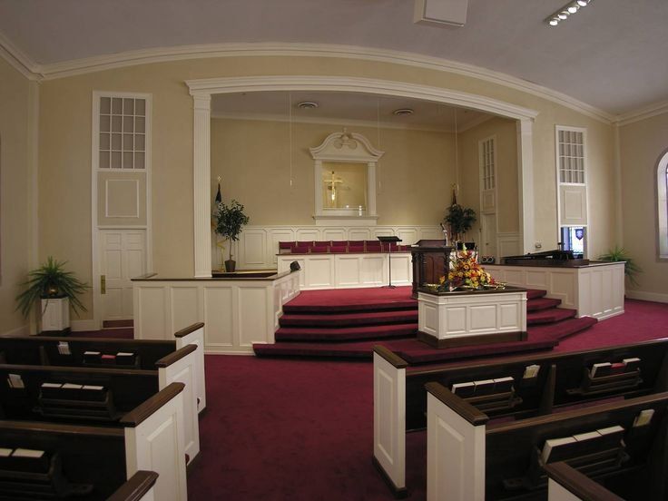 What is a sanctuary in a typical parish church?