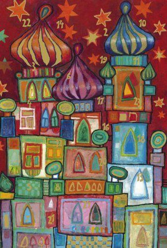 Adventskalender Kunststunden Kunstprojekt Für Kinder