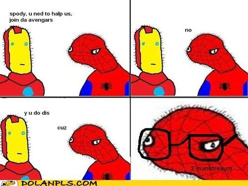 Dolan duck spiderman - photo#7