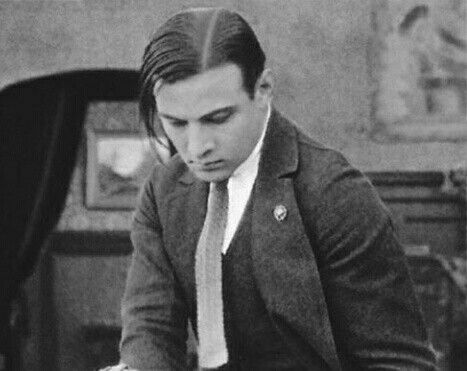 Rudolph Valentino in a scene from The Married Virgin, 1918.