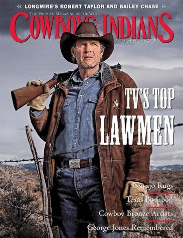 August/September Cover Preview: TV's Top Lawmen:  I'm enjoying both the TV series and the books!