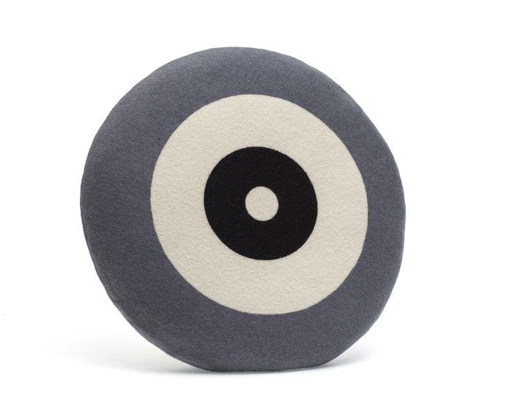 Wendt Design pude – Dot i lysegrå farve - Tinga Tango Designbutik