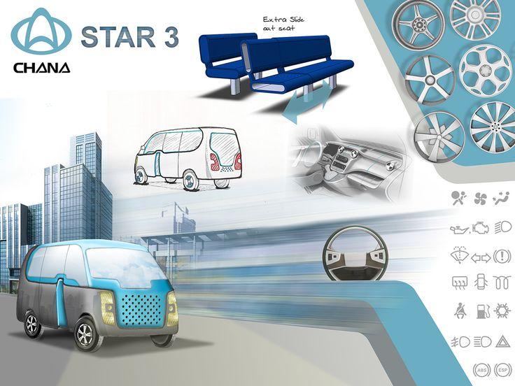 Chana Car Design on Behance