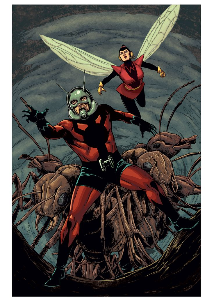 #Ant-Man and #Wasp by Marc Laming *