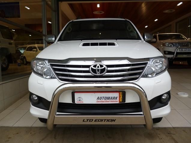 The Unbeatable & Most Reliable #SUV around, Choose our 2014 #Toyota #Fortuner III 3.0 D-4D Raised Body Heritage Edition. White, Driven by an Impressive 3.0 Diesel Engine. Manual Transmission, Low Mileage of Just  1 500Kms ,Bargain at R399 990. Extras: Climate Control Leather Trim Power Steering Cruise Control iPod Connection Electric Mirrors Electric Seats Electric Windows - Front & Back Airbag - Driver, Pass & Sides Contact Keith Rabilal On 082 323 1303 / 031 737 1500 or Email…