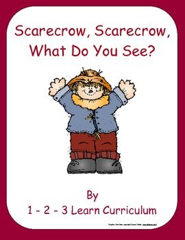mens trench coat Scarecrow  Scarecrow  What do you see  FREE Emergent Little Reader
