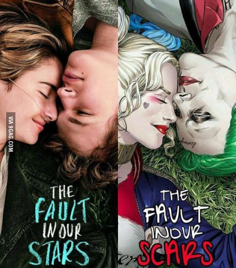 The fault in our scars...                                                                                                                                                                                 More