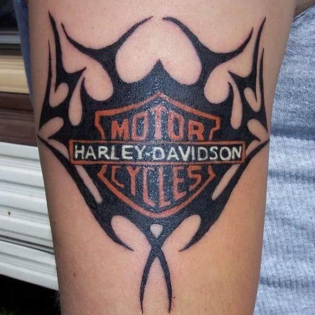 Harley Davidson HOG Tattoo Designs, Harley Davidson Men