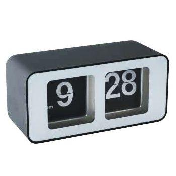 Gadget Geek Materiel.net Horloge flip noir