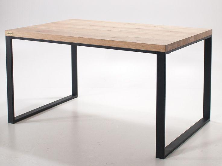 Rokładany stół industrialny z dostawkami - Wymiary: 150 +( 2x 40cm dostawki)x90x76 - 2100zł - Stoły - Meble - Sklep internetowy Guido