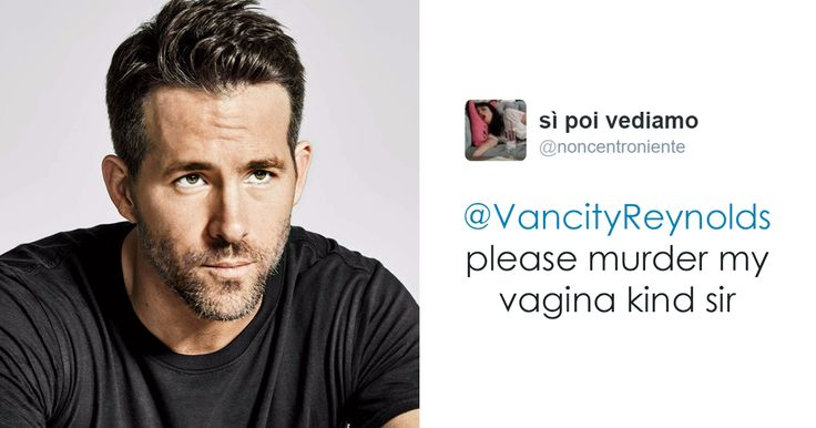 Ryan Reynold's Polite Responses To Horny Fans' Tweets Are Pure Gold | Bored…