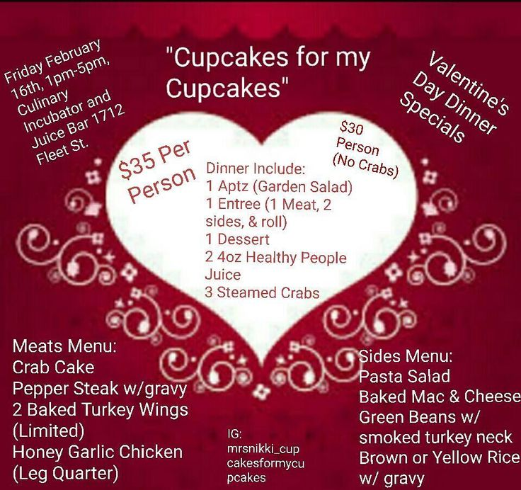 Come join us. We will also have Cupcakes & other sweet treats available. Friday February 16th 1pm-5pm 1712 Fleet St. Best prices around town . #fellspoint #turkeywings #crabs #cupcakesformycupcakes #family #cupcakes #chocolatecupcakes #flavorInfusedChocolateCupcakes #infusedflavors #popup #dinners #juicing #food #crabcakes #honeygarlicchicken #love #peppersteak #bmore #entrepreneurs #supporter #culinaryincubator #chocolatestrawberries #healthypeoplejuice #Valentinesday #chocolatepreztels…