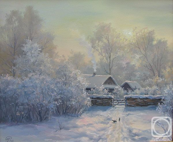 Ropyanyk Ihor. Frosty morning