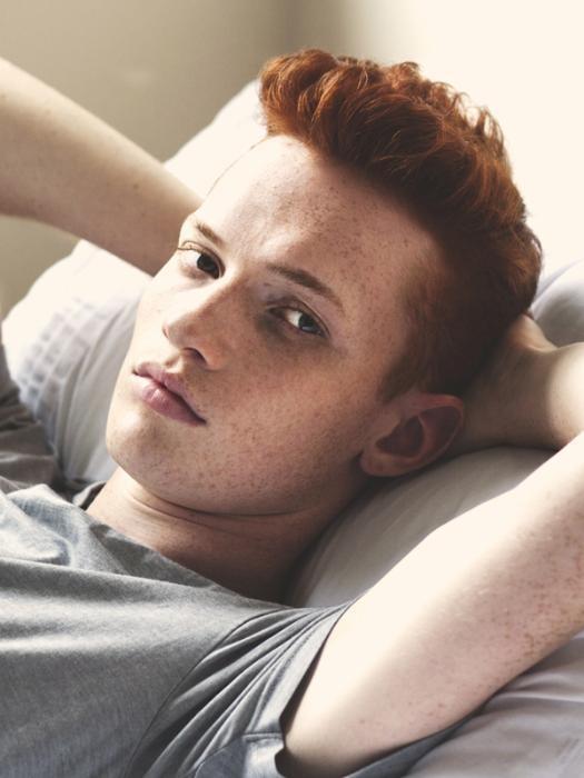 #ginger #men