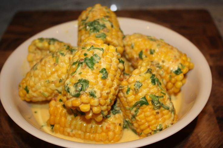 Makai paka east african style corn in coconut curry for African heritage cuisine