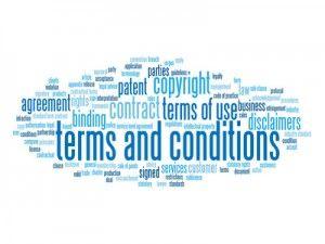 Har du en Webshop og har ikke fået opdateret dine handelsbetingelser efter den nye forbrugeraftalelov, der trådte i kraft medio 2014, så er her et link til en skabelon du kan bruge. http://artikler.medialine.dk/handelsbetingelser-webshop/