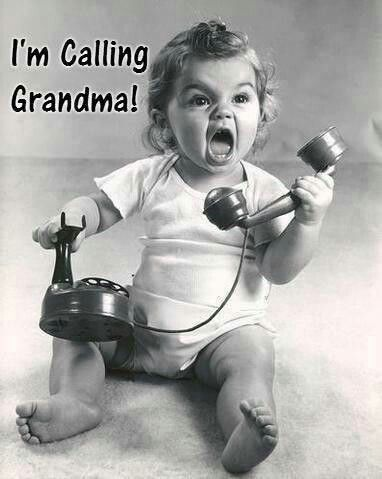 #Grandma!!1  lol That would be my Kodee & Keira!   Calling me!!!  Gaaamaw,Gaaaamaw~