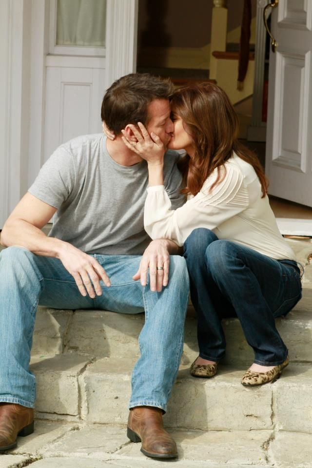 """I love you once, I love you twice, I love you more than beans and rice"" Mike and Susan -Desperate Housewives."