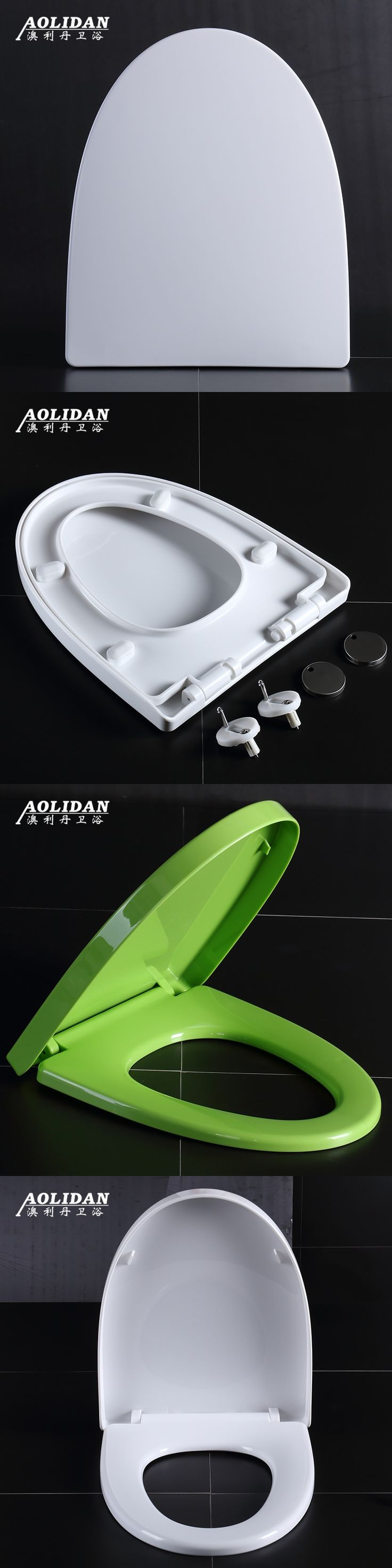 2017 Electronic Bidet Bidet Heated Toilet Seat Cover Slow Down Thickened General Color Lid Type V O U Old Three Quick Release