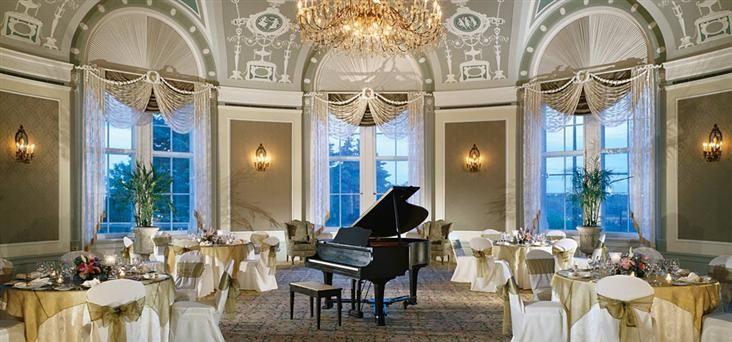 Fairmont Hotel Macdonald  Offers Meeting Rooms, Ballrooms, Gardens and Restaurant/Bar Space