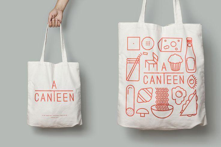 Acanteen branding & interior design  http://mindsparklemag.com/design/graphic/acanteen-branding-interior-design/ #branding #interiordesign #london