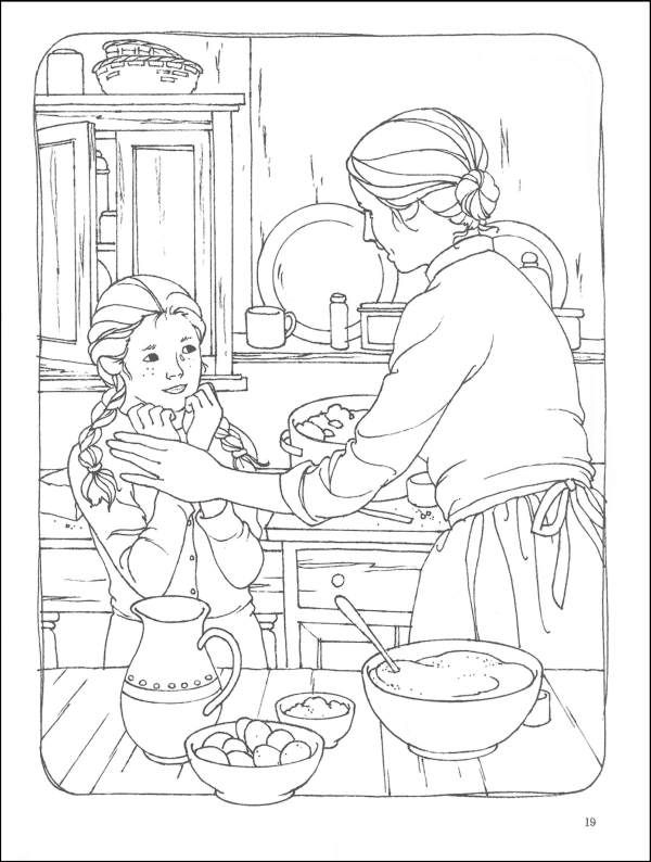 anne of green gables black and white illustrarted | Anne of Green Gables Coloring Book (005132) Details - Rainbow Resource ...