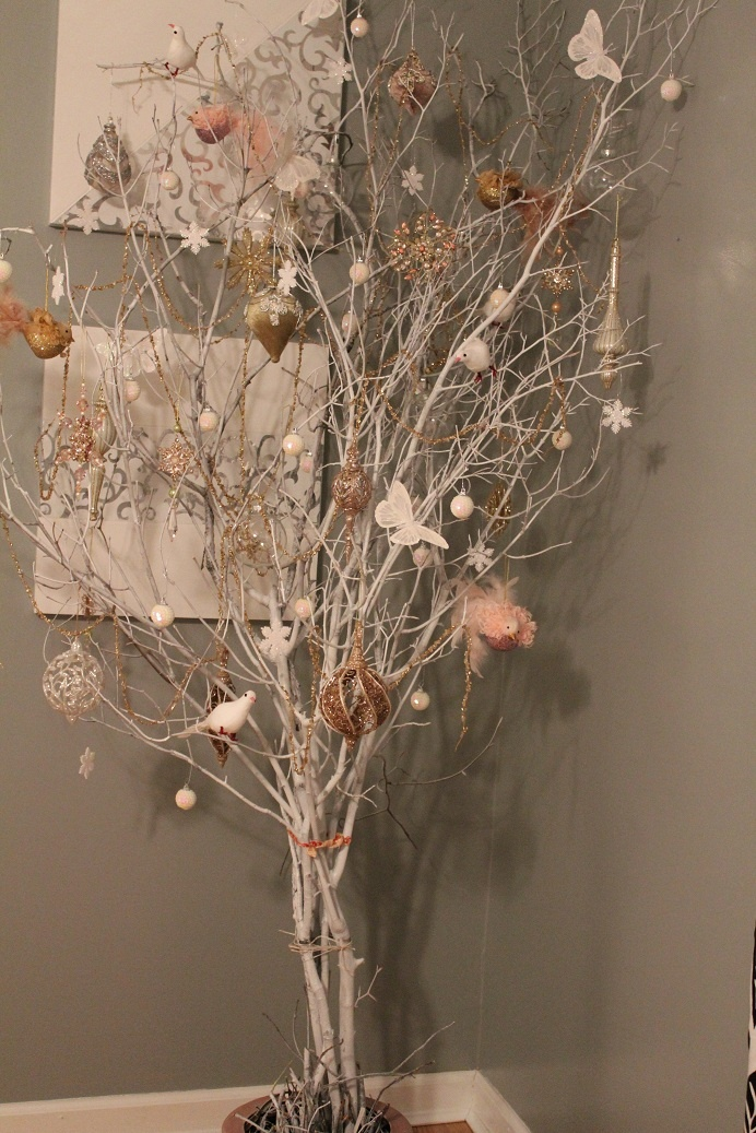 41 best images about on pinterest artificial - White painted tree branches ...