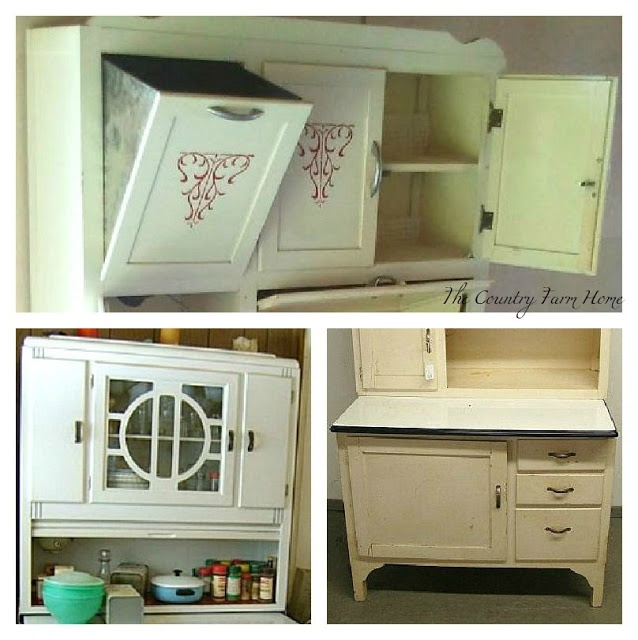 The Country Farm Home: Ill Take A Hoosier Cabinet, Please