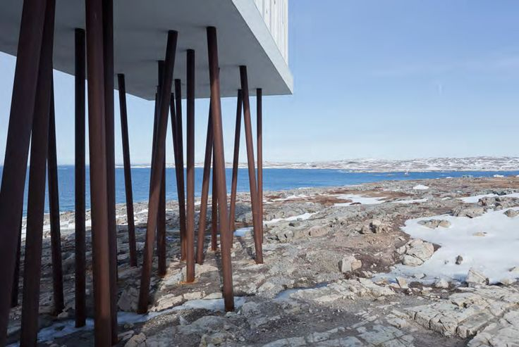 The Hotel at the end of the the Earth | Todd Saunders Architects | Newfoundland, Canada