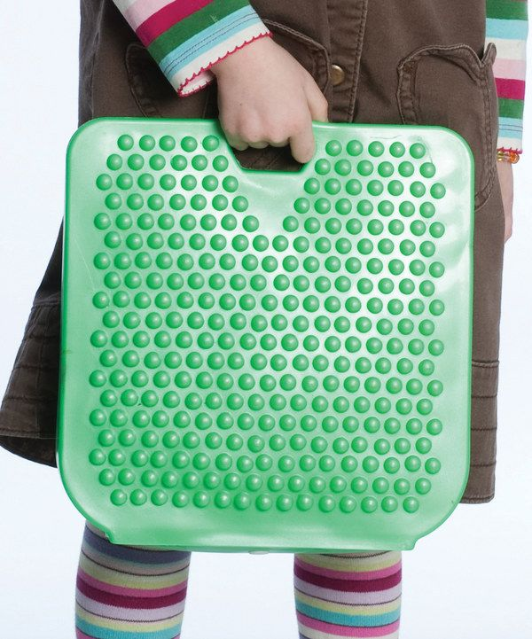 Look at this Fun and Function Green Wedge Cushion on #zulily today!