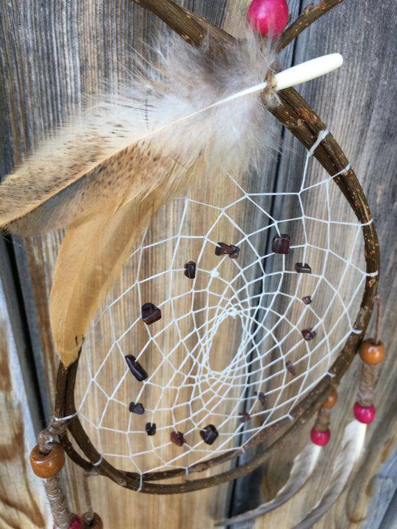 STEEPED - Traditional Dreamcatcher, Rustic Dreamcatcher, Bohemian Dreamcatcher