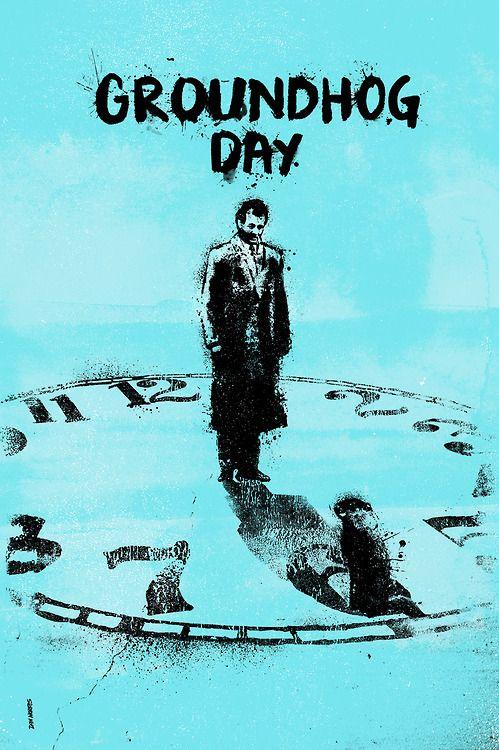 Groundhog Day - movie poster - Daniel Norris