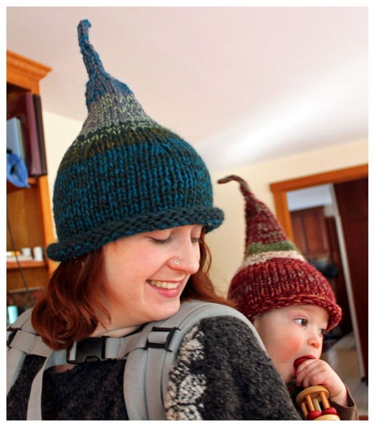 free gnome hat pattern - these are my 2nd favorite hats to make, especially for wee ones!