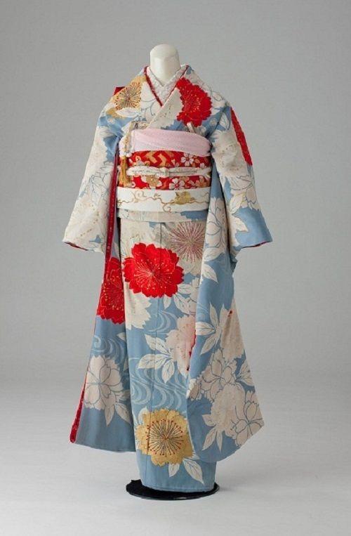 昭和初期の振り袖