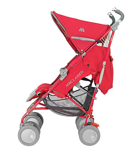 The sporty Maclaren Techno XT stroller provides supreme ...