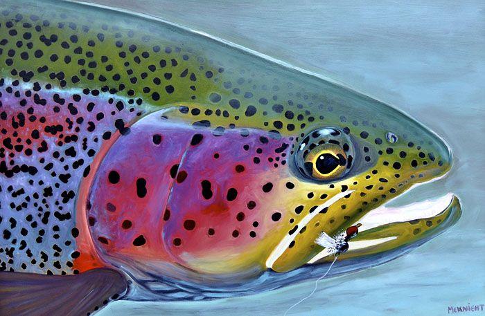 Fly Fishing Paintings of Doug McKnight