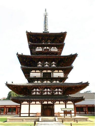 Nara Japan 奈良県 薬師寺 東塔