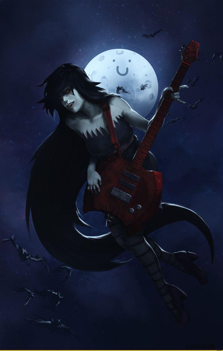 Marceline,Марселин - Королева Вампиров, Марселин,adventure time,время приключений,фэндомы,at art