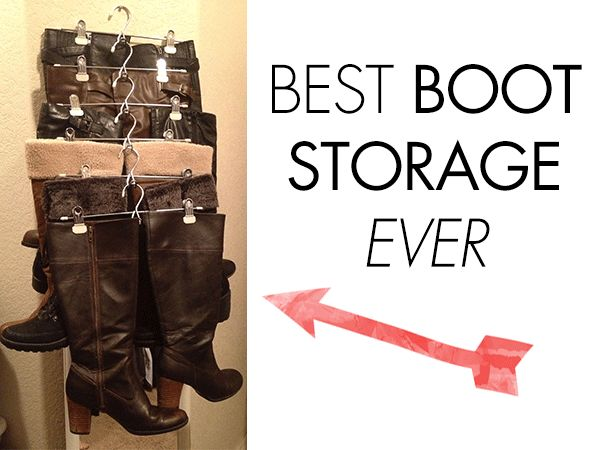 Boot Organizer For Closet Storage Organization Pinterest Boots And 2
