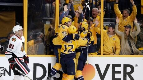 Predators remarkable comeback has Blackhawks on brink of elimination