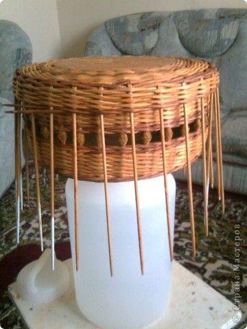 Мастер-класс Плетение мк крышки для плетенки Бумага газетная фото 11
