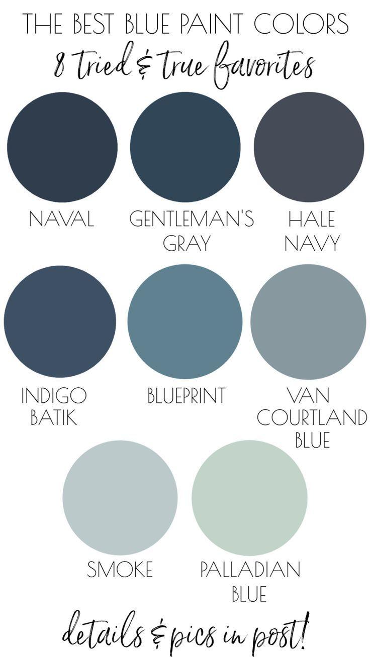 The 8 Best Blue Paint Colors Readers Favorites Driven By Decor Best Blue Paint Colors Blue Paint Colors Office Paint Colors