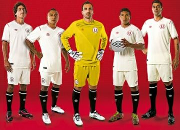 Club Universitario de Deportes 2015 Umbro Home and Away Kits