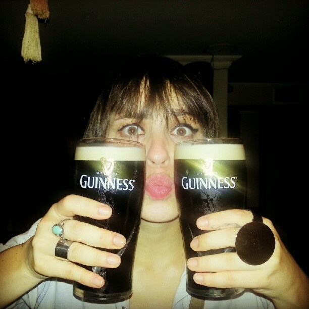 Guinness Girl - @hanmono- #webstagram