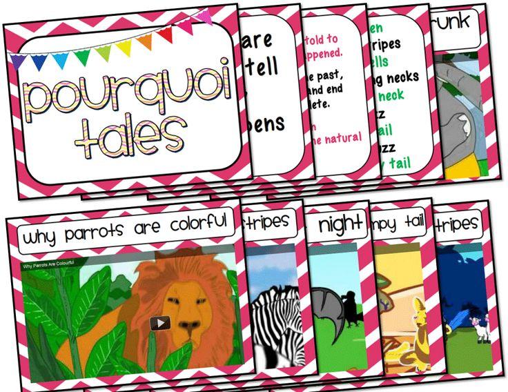 Ms. Third Grade: Pourquoi Tales