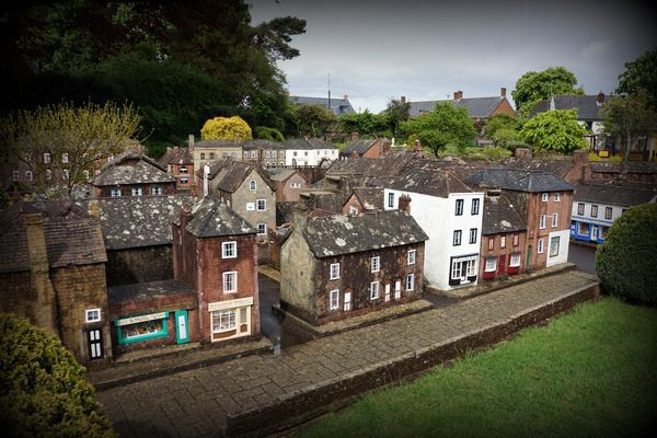 Wimborne Minster Model Town | Atlas Obscura