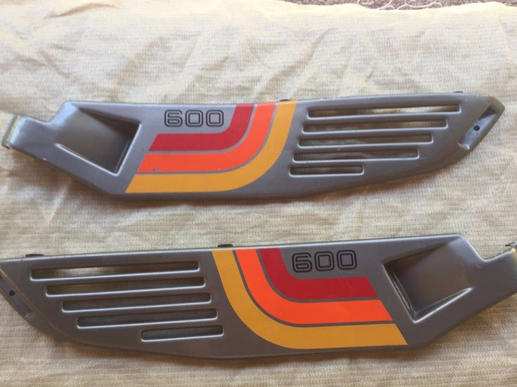 Ducati Pantah 600 TL Side Cover Set